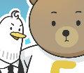 好冷鸭和芝士熊
